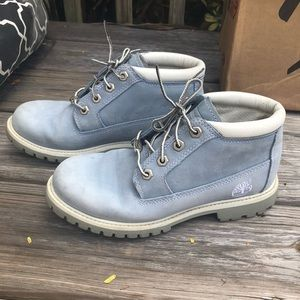 Timberland Classic Blue Suede Nellie Chukka Boot
